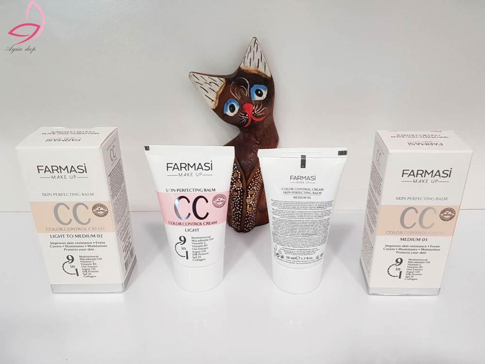 سی-سی-کرم-۹-در-۱-فارماسی-Farmasi-٩-in-١CC-Cream