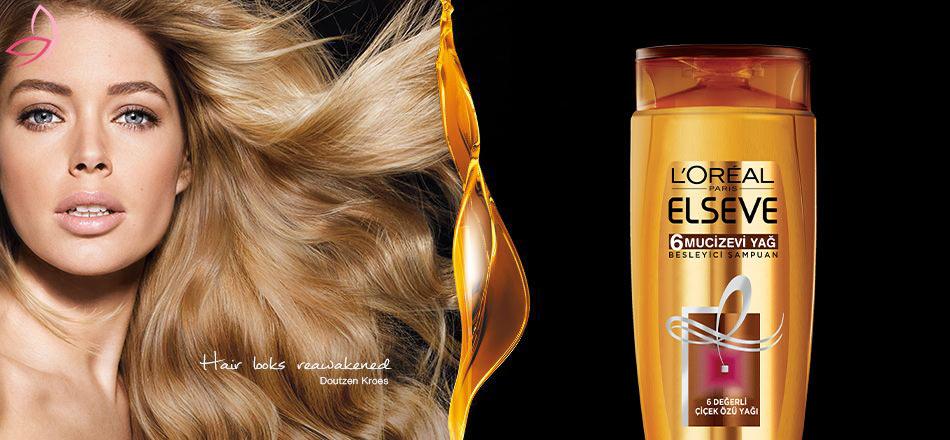شامپو تغذیه کننده مو لورآل مخصوص موهای معمولی و خشک ۴۰۰ میل