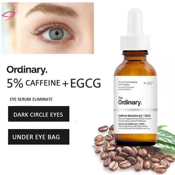 سرم دور چشم ضد تیرگی و پف کافئین ۵٪ اوردینری
