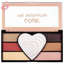 پالت سایه چشم ۷ رنگ رولوشن مدل Love