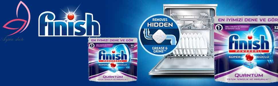 قرص ماشین ظرفشویی فینیش مدل Quantum Max بسته 36 عددی