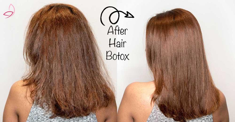 بوتاکس مو بهتر است با کراتینهی مو؟